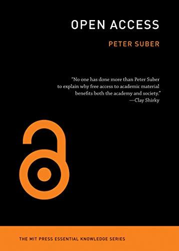 Open Access (MIT Press Essential Knowledge series)