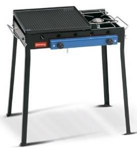 Barbecue Ghisa Gas Combinato Art 92 Ferraboli