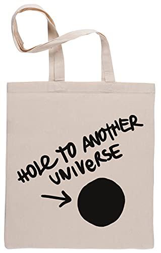 Hole To Another Universe Bolsa De Compras Shopping Bag Beige