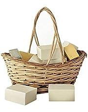 d'moRe Natuurlijke ezelsmelkzeep (Donkey milk soap) - Handgemaakte zeep - Koud geperste zeep - Biologische zeep - Natuurlijke zeep - Shampoo Bar - Vaste shampoo -150g + - 10gr. Dermatologisch getest