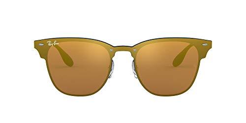 Ray-Ban 3576n Gafas de Sol, Brushed Blue, 41 Unisex-Adulto