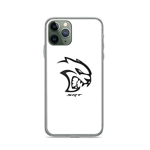 Compatible con iPhone Samsung Xiaomi Redmi Note 10 Pro/Note 9/8/9A Funda Dodge Hellcat SRT Cajas del Teléfono Cover