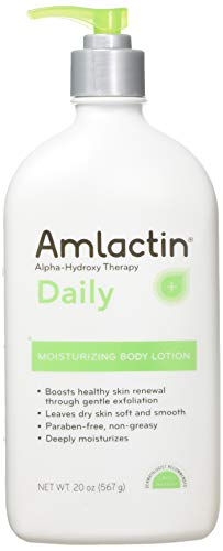 Amlactin 12% Lactic Acid Alpha-Hydroxy Therapy Moisturizing Body Lotion