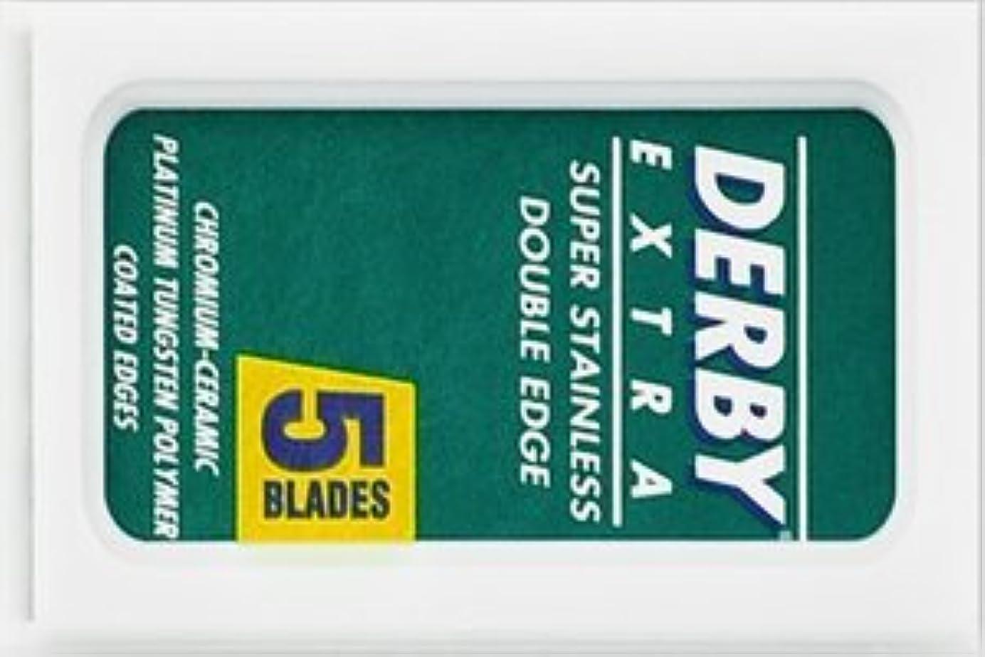 アルカトラズ島創造ふざけたDerby Extra 両刃替刃 5枚入り(5枚入り1 個セット)【並行輸入品】