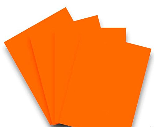 50 Blatt Qualitätspapier / Farbpapier / Kopierpapier A4 ORANGE 80g/qm Coloraction