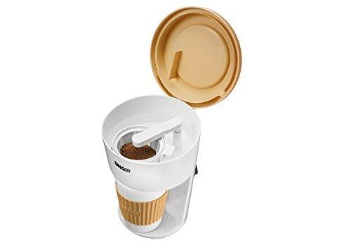 Unold Kaffeemaschinen To Go Freistehend Semi-Automatik 1Tassen Weiß