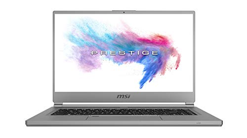 MSI P65 Creator 9SE-1211UK creator Laptop, Coffeelake i7-9750H 16 GB (8 GB x 2), 512 GB RTX 2060 6 GB, Windows 10 Pro