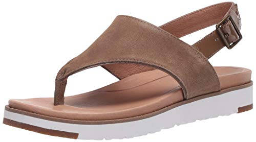 UGG Women's Alessia Sandal, Coffee Grounds, 10