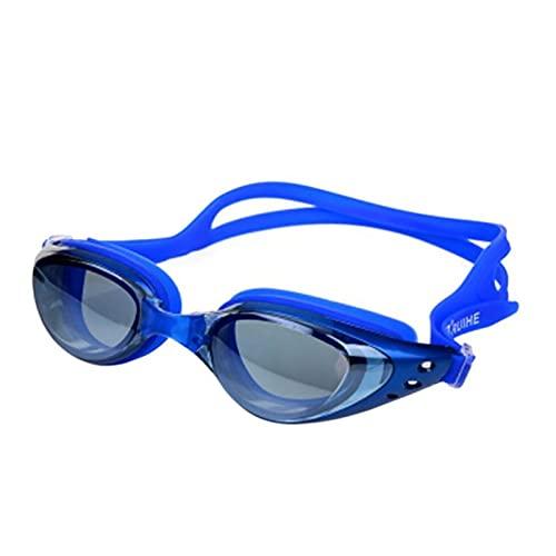 YONGLI Gafas De Natación Espejada Sello De Silicona Gafas De Natación Gafas De Buceo Protección Anti-Fog Anti-Shatter Impermeable (Color : 4)