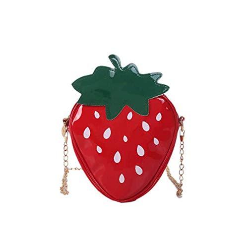 LHXS Casual Handtassen Vrouwen Fruit Schoudertas Mode Crossbody Bag Meisje Leuke Aardbei Tas Dames Tas
