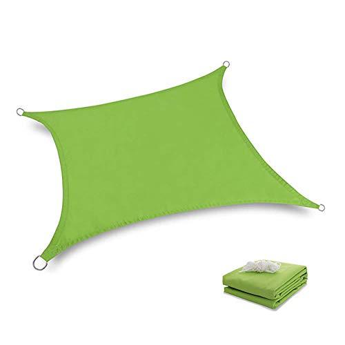 HTHJA Toldo Impermeable y con protección UV,Parasol Impermeable al Aire Libre, Parasol Anti-Ultravioleta de Tela Oxford cifrada 3X3X4.3m Verde