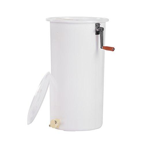 Zerone 2 Marcos Extractor de Miel Gran Capacidad Extractor de Miel de Abejas, Recipiente de Plastico, Proteger la Colmena