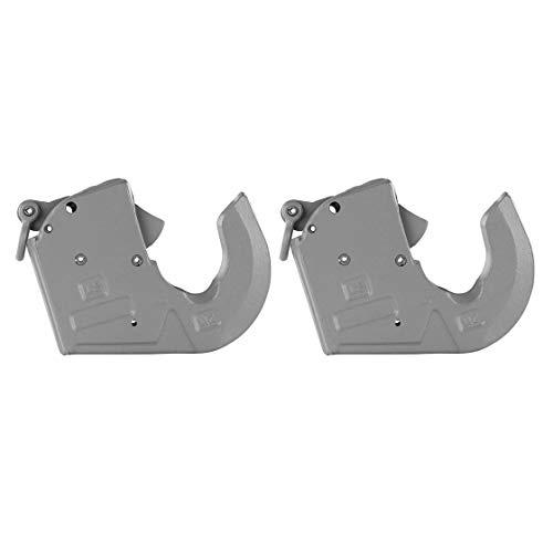 Unterlenker Fanghaken | Schnellkuppler | autom. Sicherung | bis 68 PS | Kategorie 1 | 2 er Set | grundiert | Traktor | Trecker | Schlepper | Fanghaken für Unterlenkerfanghaken |