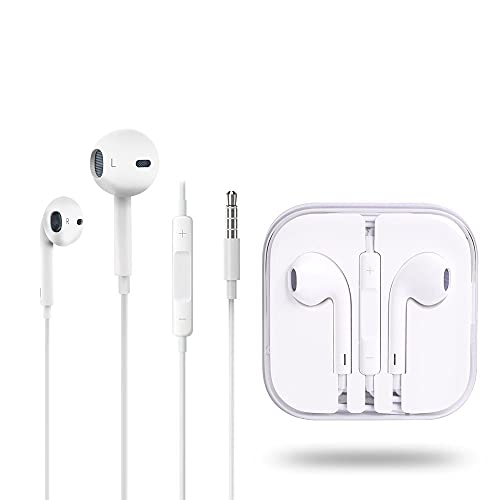 Fone de Ouvido Para Iphone 5s/6/6 Plus Apple Similar - Branco