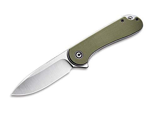 CIVIVI Unisex– Erwachsene Elementum Green Taschenmesser, Grün, 17,7 cm