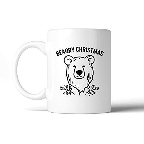 Bearry Christmas Bear kaffekopp Micro-Wave säker diskmaskin säker