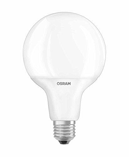 OSRAM LED STAR LED-Lampe, Globe, E27-Sockel, 9 W Äquivalent 60 W, 220-240 V, mattiert, warmweiß 2700 K, Packung mit 1 Stück