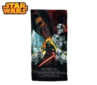 SWE7038 Toalla infantil motivo de STAR WARS (70 x 140 cm / 100% algodón)