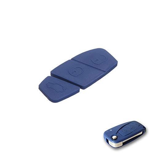 Gommino Compatibile 2 o 3 Tasti Blu Ricambio Pulsanti Multipla Punto Panda Stilo Bravo Doblò Idea Fiorino Ducato 500 600