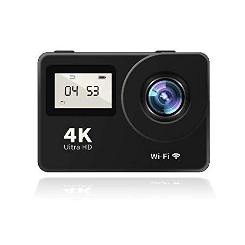 Fnsky Cámara de acción, 4K WiFi Ultra HD Sports Camcorder impermeable de buceo con control remoto para exteriores