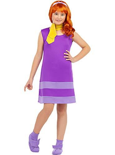 Funidelia   Disfraz de Daphne - Scooby Doo Oficial para nia Talla 10-12 aos Scooby Doo, Dibujos Animados