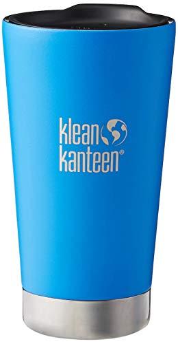 Klean Kanteen Vaso insulado 16oz, Adultos Unisex, Azul, 158.6 mm h x 89.5 mm w x 89.5 mm l