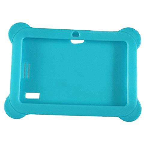 bansd Funda Protectora de Silicona a Prueba de Polvo Adecuada para Tableta Android Q88 Sky Blue de 7 Pulgadas