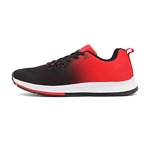JOMIX Zapatillas deportivas de hombre para entrenamiento de verano Rojo Size: 43 EU