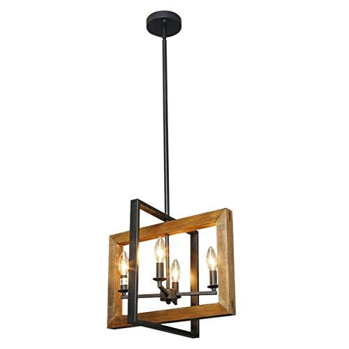 Lámpara colgante de araña, estilo industrial antiguo, apta para salón, cocina, plato, país americano, lámpara de araña
