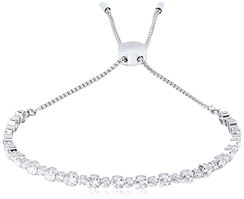 Swarovski Bracelet Subtle, blanc, Métal rhodié
