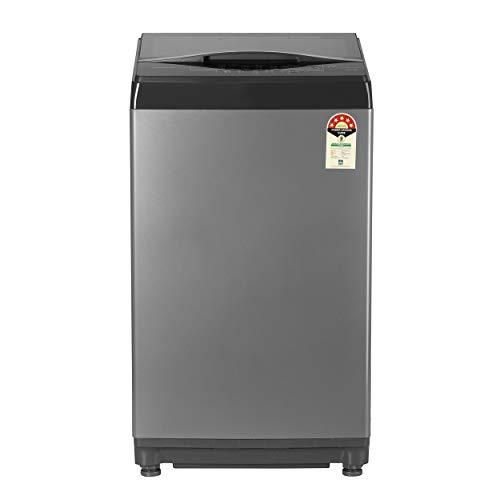 Bosch 6.5 Kg Fully-Automatic Top Loading Washing Machine (WOE654D2IN, Dark Grey)
