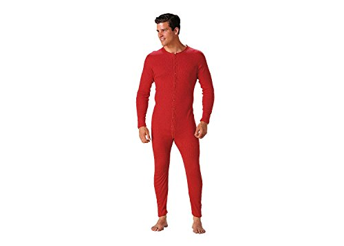 Rothco Union Suit, S Red