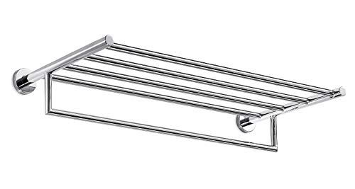 INDA A10680CR Gealuna Serviettenhalter Messing, verchromt, 29 x 65 x 12 cm
