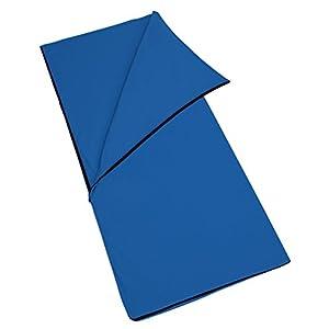 (サモルックス) Sumolux インナーシュラフ 寝袋 フリース 毛布 ブランケット 大判 あったかい 多機能 膝掛け アウトドア 車中泊 洗える ファスナー付き 封筒型