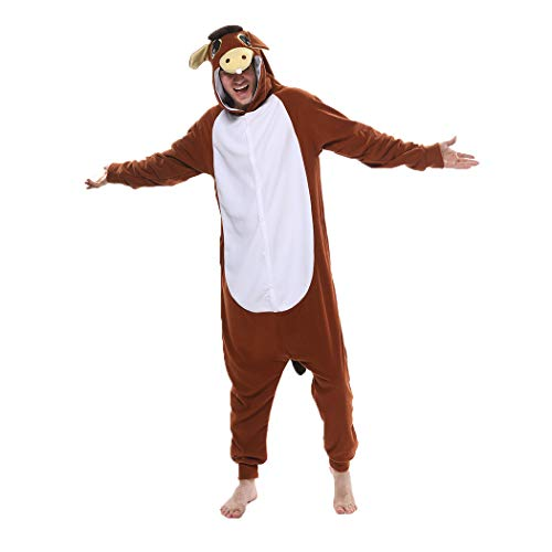 FORLADY Animal Onesie Adulto Halloween Pijamas Animal Cosplay Disfraz Unisex