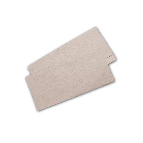 10.000 Stück Papierhandtücher Natur 25x23 cm ZZ-Falz recycling