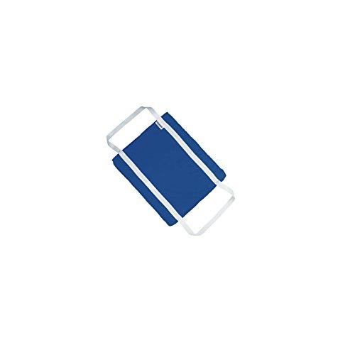 THE COLEMAN COMPANY Flotation Cushion, Blue, 16-1/2 x 14'