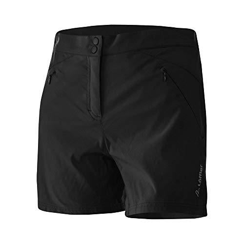 LÖFFLER Bike Shorts Aero Comfort Stretch Light - Extra Short Damen - 23564 - Damenhose mit Sitzpolster