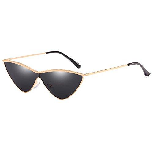 Haodasi MOD-Stil Modische Individualität Dreieck Sonnenbrille Antireflex-Gläser aus Metall Brille