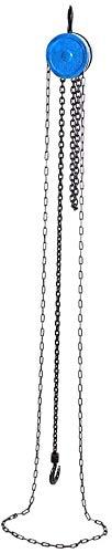 Polipasto de cadena de 0,5 t de capacidad, 2,5 m de altura, polipasto de cadena, polipasto...