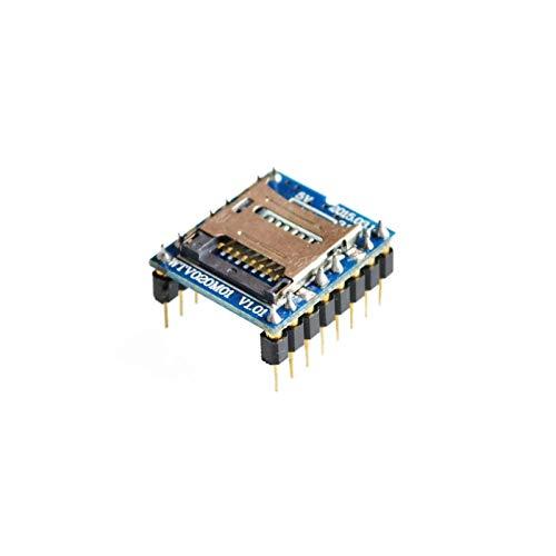 FANGCHENG Tablero Perforado WTV020 WTV020-SD WTV020SD-20SSS Mini Dakota del Sur Tarjeta MP3 Módulo de Sonido Trabajo electronico