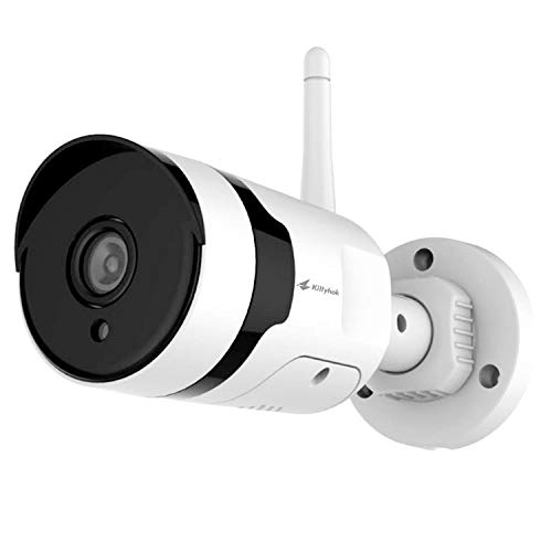 [Add on Camera or Standalone] Kittyhok 1080P Full HD Wireless Security Camera, WiFi IP Home Surveillance Bullet Camera with 2 Way Audio, Night Vision, Motion Video Alert