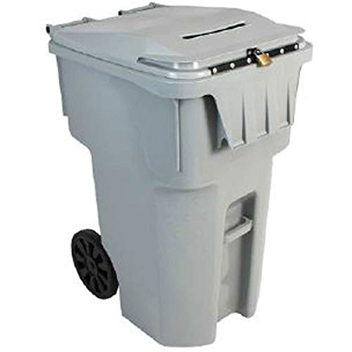 Fantastic Prices! HSM 95-Gallon Mobile Shredder Bin, Gray, HSM1070070190