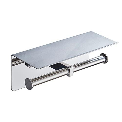 JKGHK Portarrollos para Papel 6 Tipos De Estante De Almacenamiento De Toallas De Papel con Diseño De Apertura Inferior De Acero Inoxidable,C,Punch