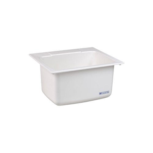 Mustee 10C Utility Sink, 22 x 25-Inch, Inch Inch, White