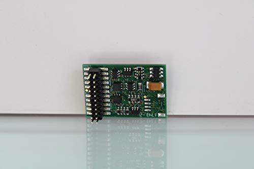 Lenz 10322-01 Lokdecoder Silver+PluX22, NEM658