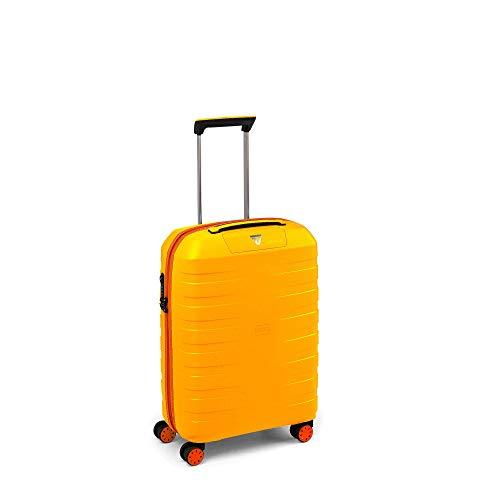 Roncato Trolley Cabina 4r Box Young Maleta, 55 cm, 41 litros, Amarillo