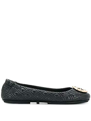 Tory Burch Luxury Fashion Damen 50736002 Schwarz Leder Ballerinas | Jahreszeit Permanent