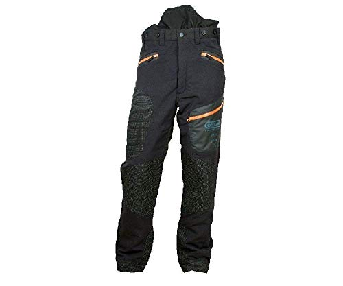 Oregon Fiordland II Pro EN381-5 - Pantalones para Motosierra (Tipo A, 20 m/s, Clase 1)