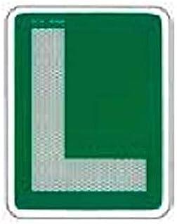 comprar comparacion Placa L V13 Homologada Conductor novel COCHE